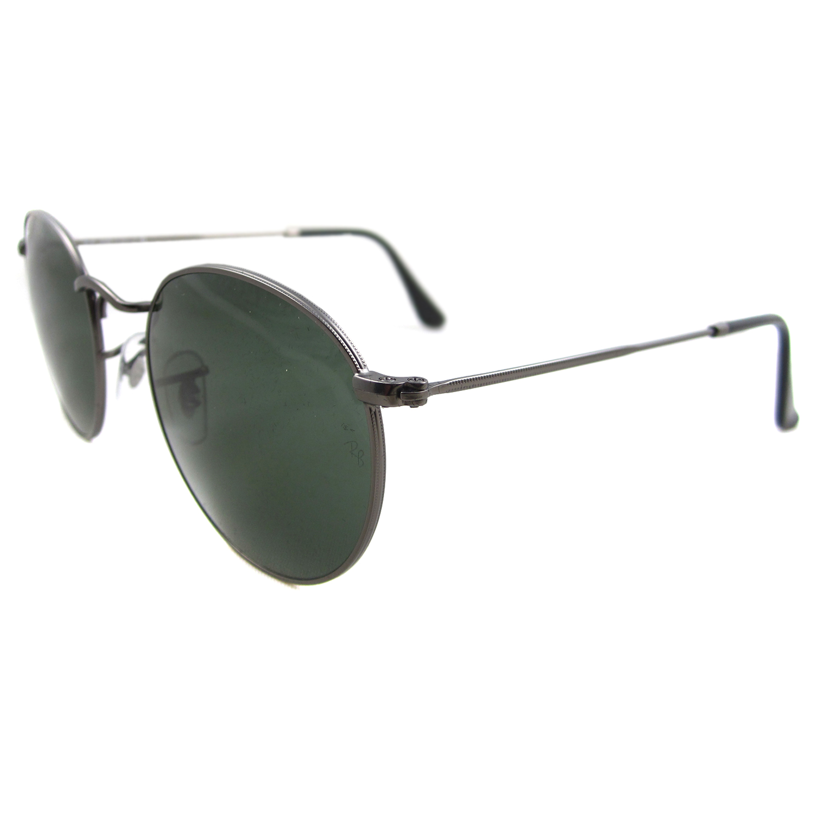 Ray-Ban RB 3447 112 Z2 Mirror Round Metal Sunglasses
