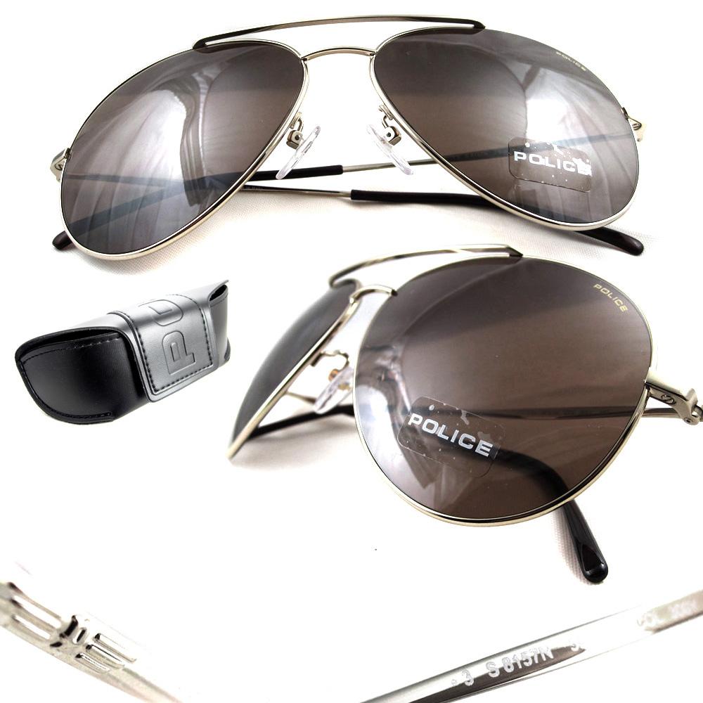 Gold Frame Police Sunglasses : Police Sunglasses 8157C 300Y Gold Brown eBay