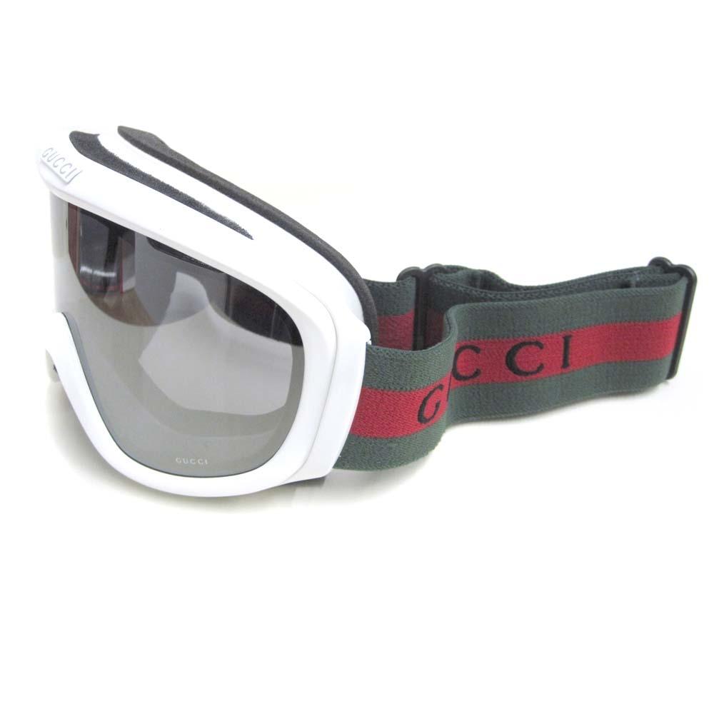 gucci goggles. new gucci ski goggles white 1940 7hi snow