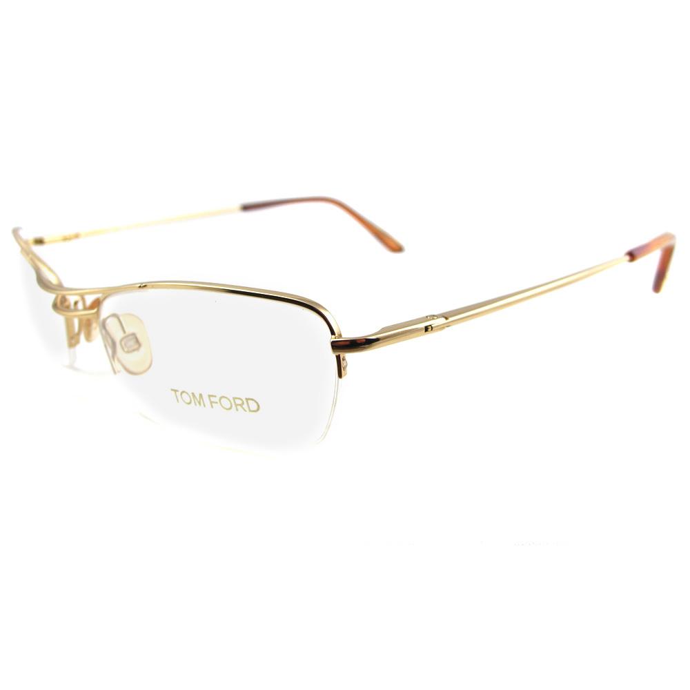 Tom Ford designer glasses frames 5009 772 Gold eBay