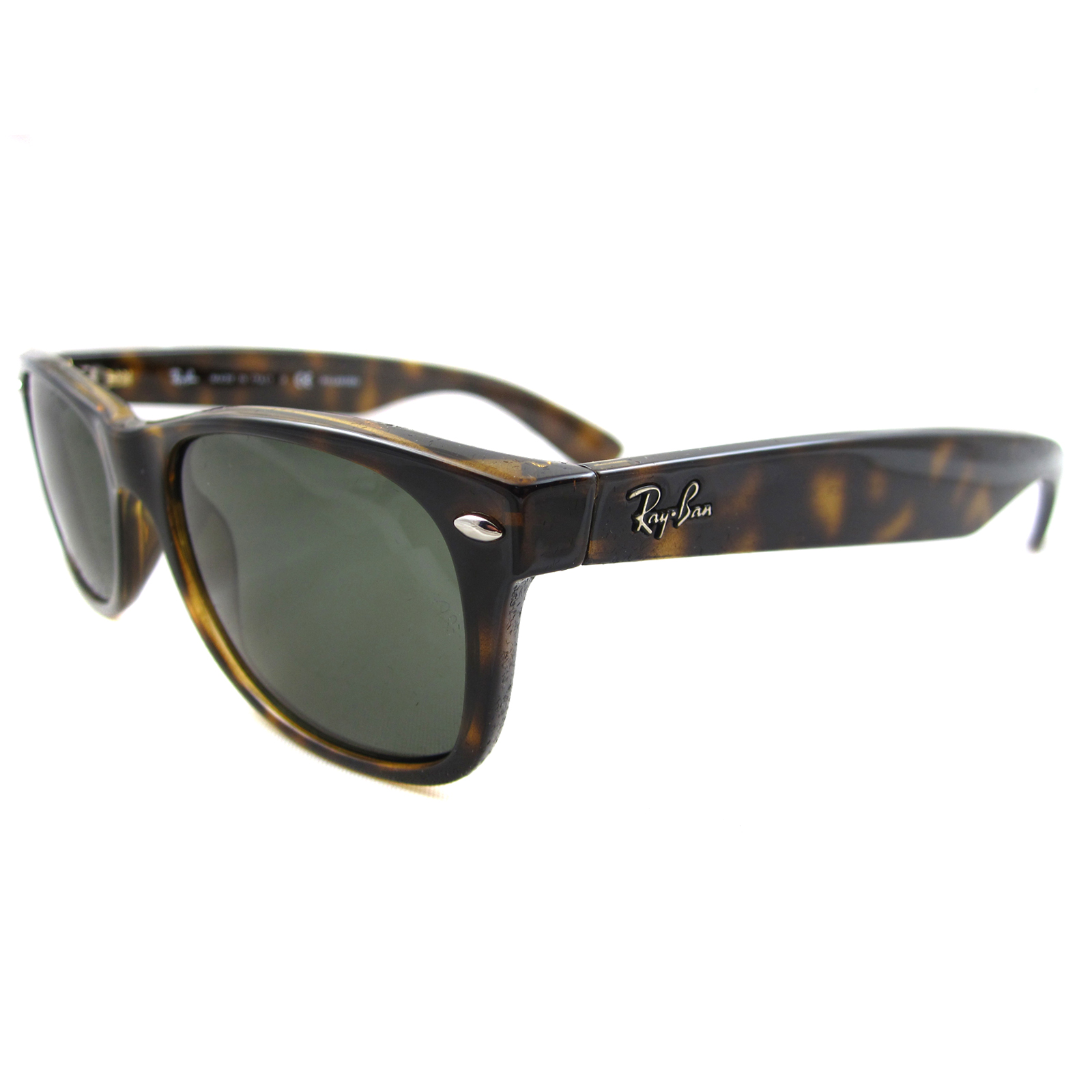 ray ban sunglasses new wayfarer 2132 902 58 tortoise green. Black Bedroom Furniture Sets. Home Design Ideas