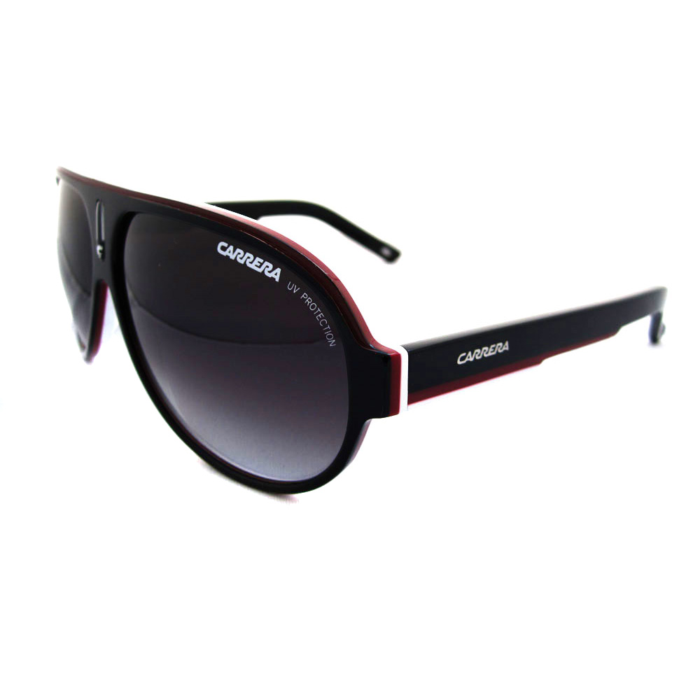 Carrera Sunglasses Carrera 25 Black Red White Dark Grey ...