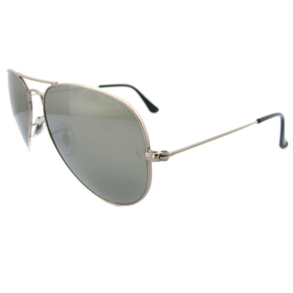 1937 ray ban 3025 silver mirror aviator sunglasses www for Mirror sunglasses