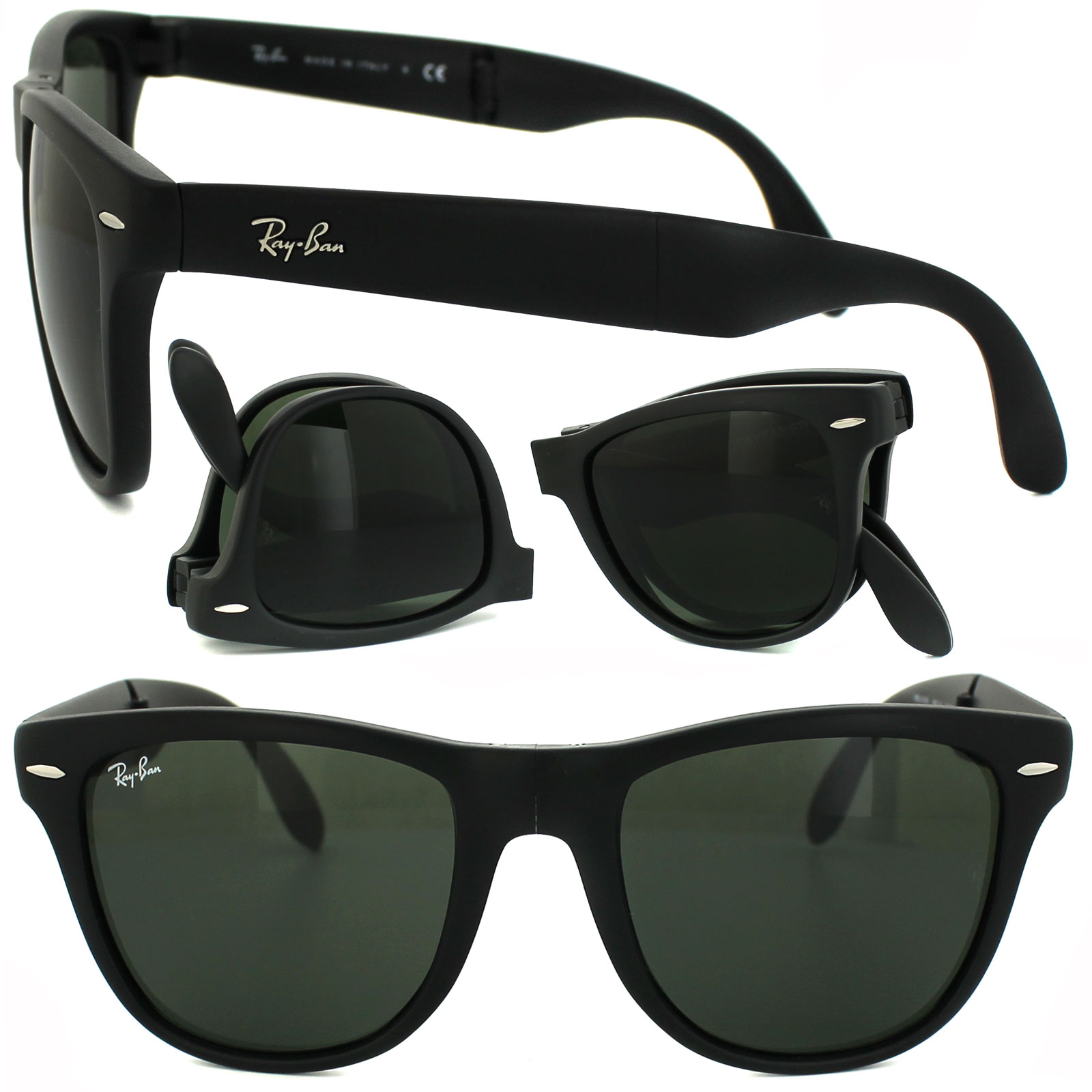 1fe3df9a1b5 folding wayfarer ray ban ebay - Holly s Restaurant and Pub