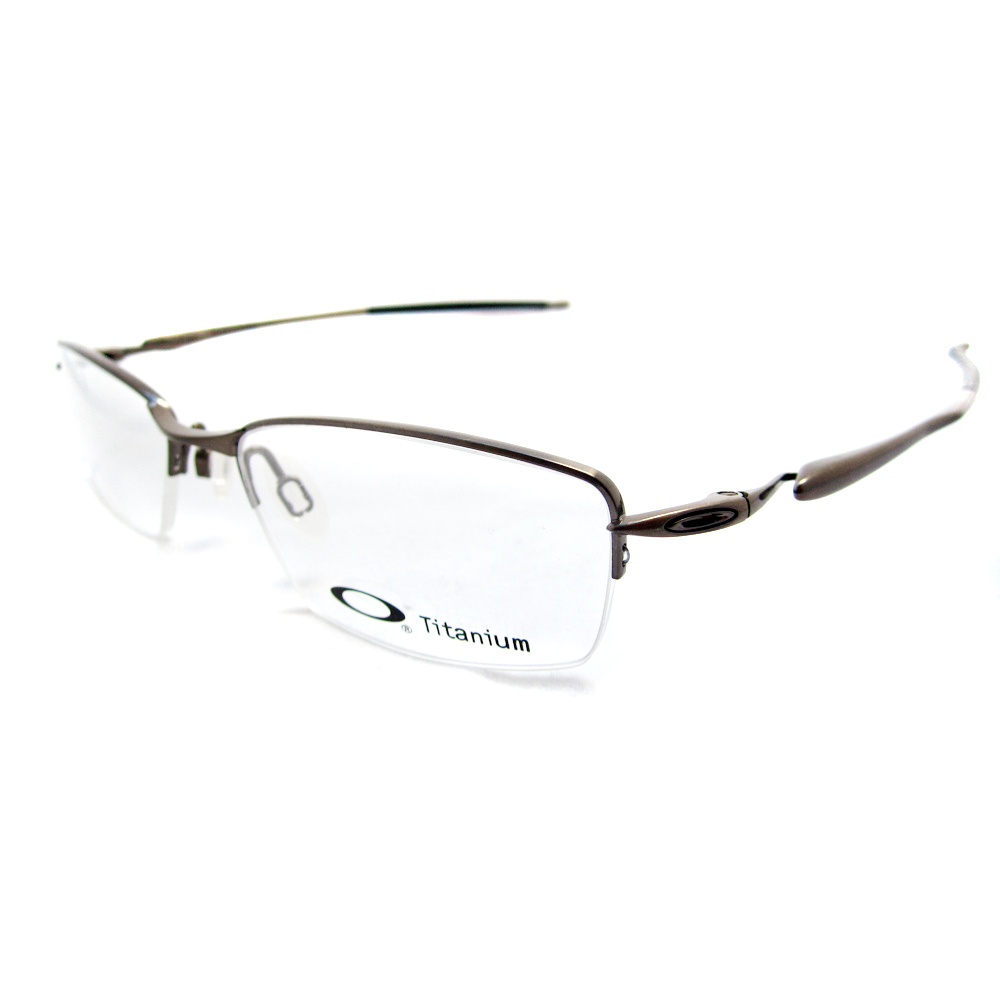 Eyeglass Frame Oakley : Cheap Oakley Glasses Frames Transistor Brushed Chrome 22 ...