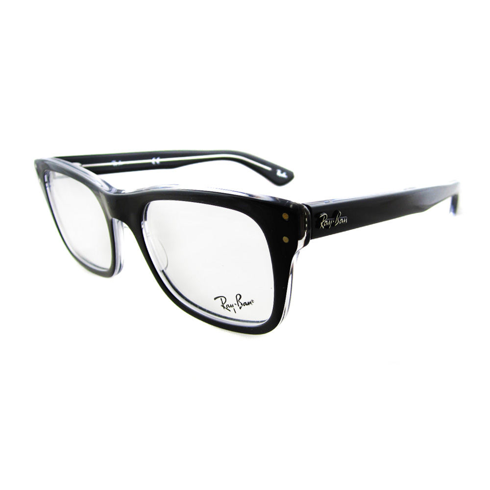 Ray-Ban Glasses Frames 5227 2034 Top Black On Transparent ...