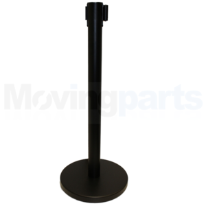 MATT-BLACK-STRETCH-CROWD-QUEUE-CONTROL-BARRIER-POSTS-SAFETY-SECURITY-SHOP-NEW