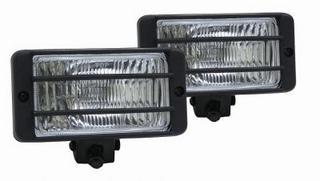 Rectangular Halogen Driving Lamps With Bulbs