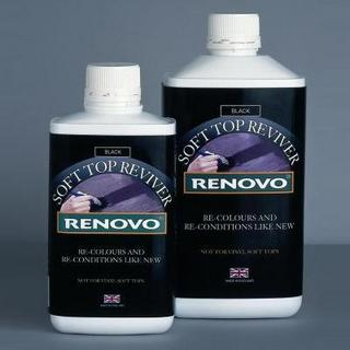 Renovo Green Soft Top Car Hood Colour Reviver 1 Litre