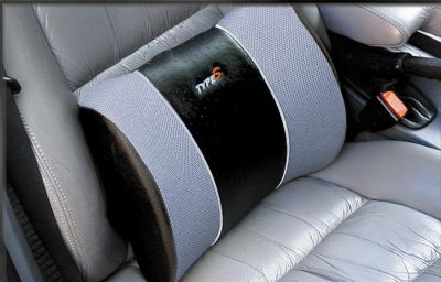 Car Chair Back Support 1PCS Black Mesh Lumbar Back Brace Support ...