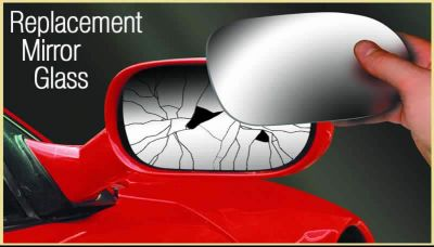 DAEWOO MATIZ 98- REPLACEMENT P/S WING MIRROR GLASS NEW Enlarged Preview
