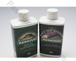 Renovo Canvas Hood Cleaner &amp; Black Reviver