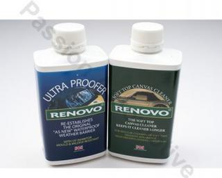 Renovo Canvas Hood Cleaner &amp; Ultraproofer