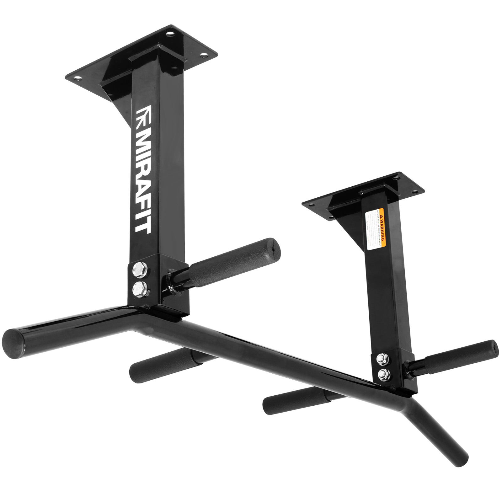 mirafit 3 position ceiling mount pull/chin up bar home/gym roof