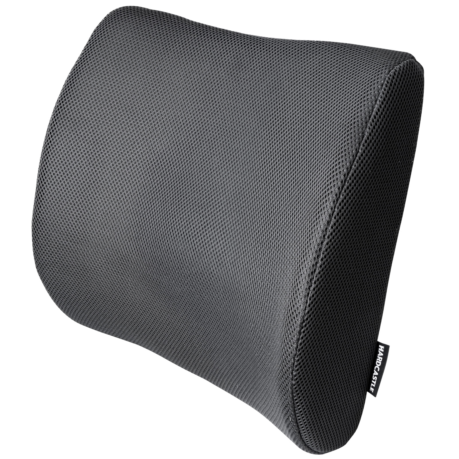 black memory foam lower back lumbar posture support seat cushion car home office ebay. Black Bedroom Furniture Sets. Home Design Ideas