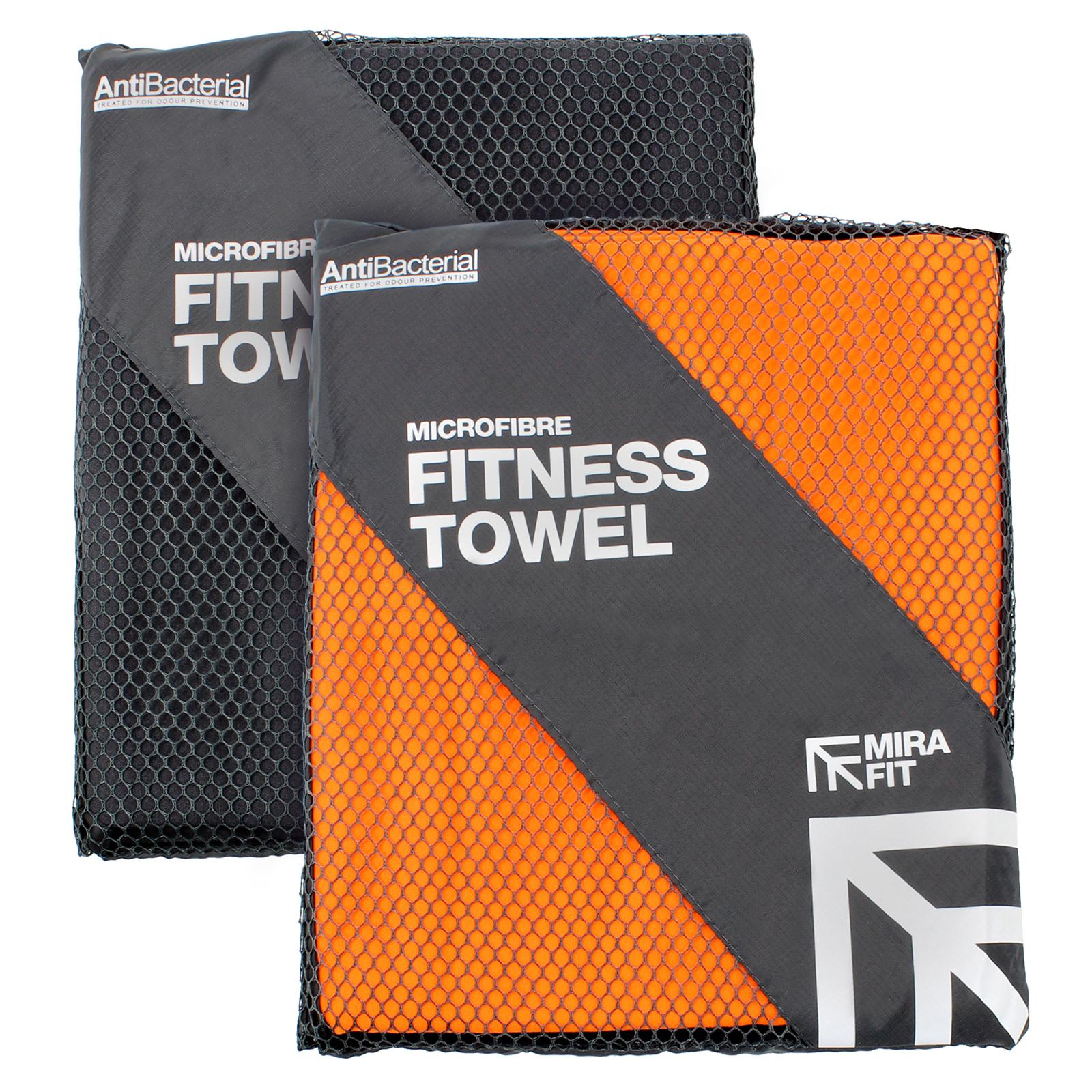 Gym Junkie Towel: MIRAFIT Microfibre Gym Towel Fitness/Aerobics/Studio