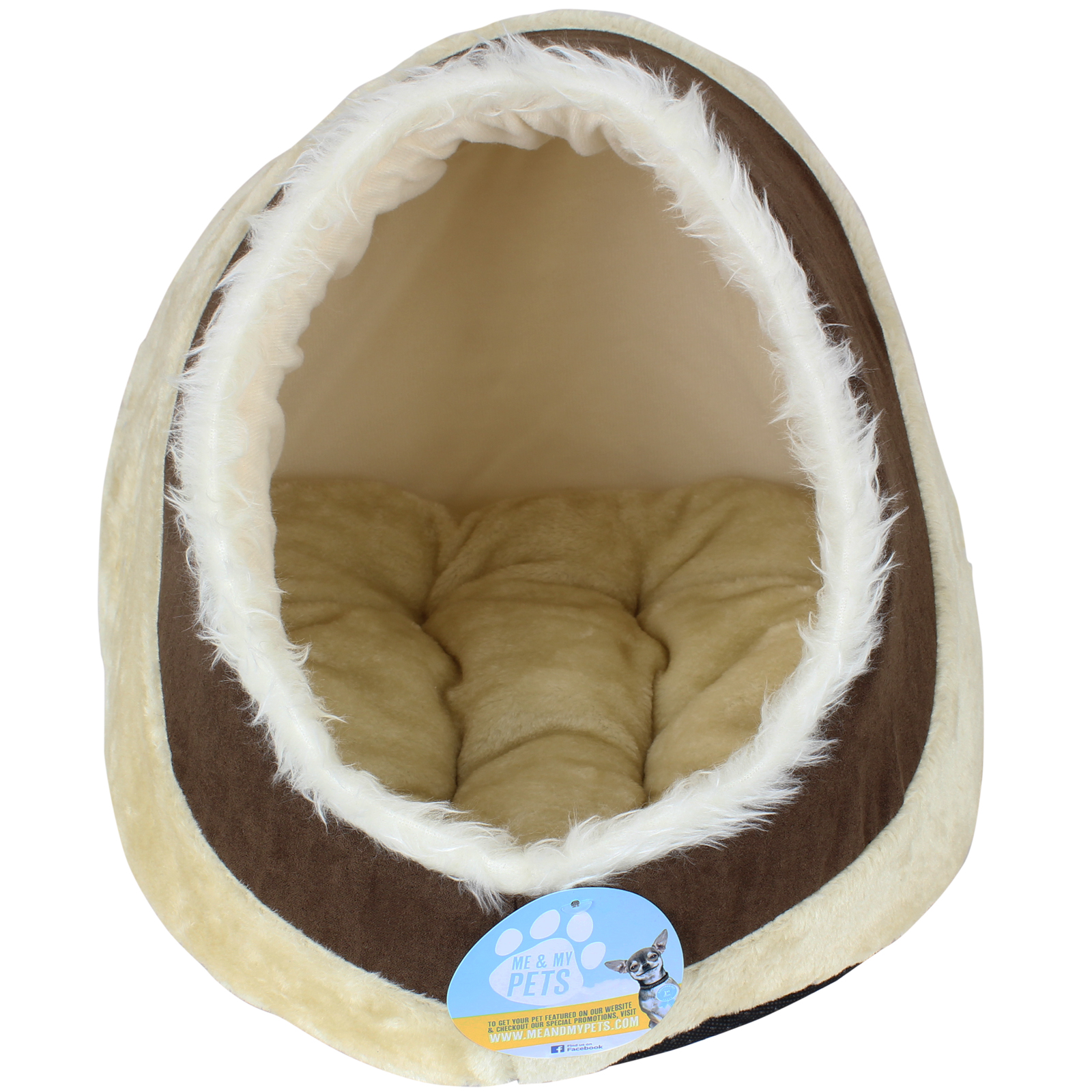 Me Amp My Soft Plush Igloo Pet Bed Cat Kitten Dog Puppy Warm