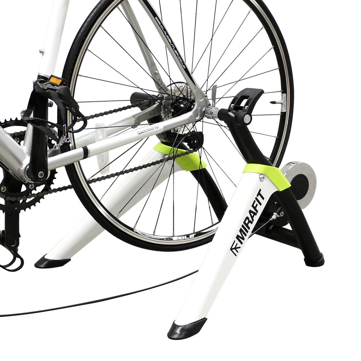 Turbo Bike Pic: MIRAFIT 8 Speed Adjustable Bicycle Turbo Trainer Triathlon