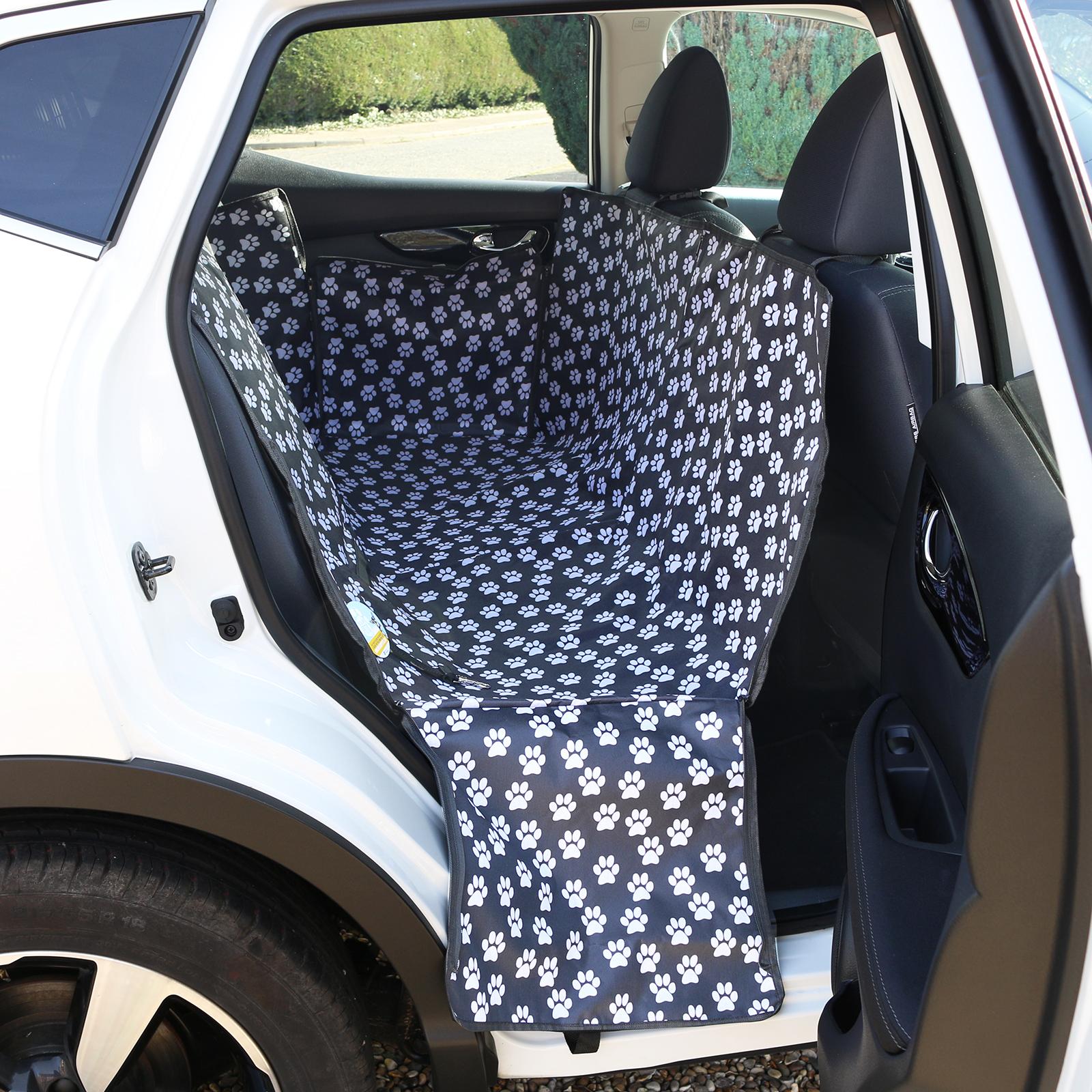 Paw Print Waterproof Car Seat Cover