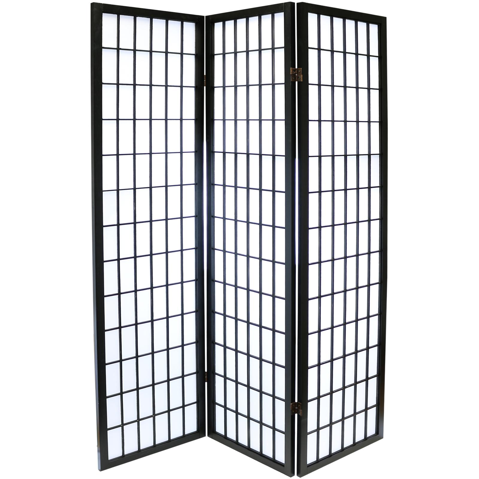 Chinese Shoji Screen ~ Hartleys black panel japanese tokyo room divider
