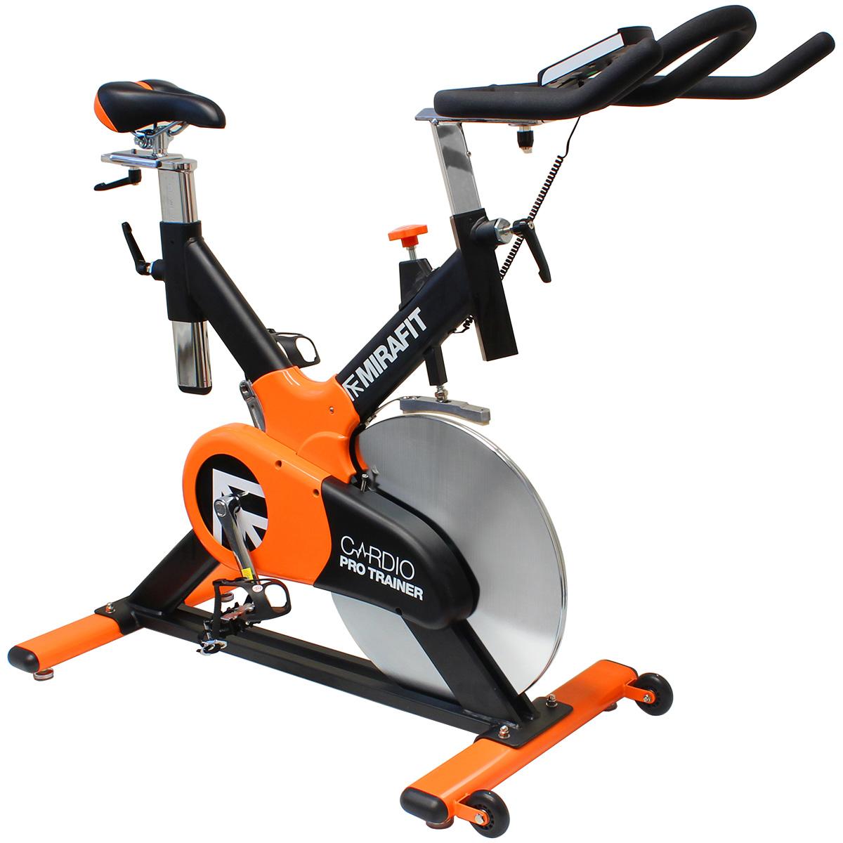 sale mirafit cardio pro trainer exercise bike aerobic fitness ex display 603