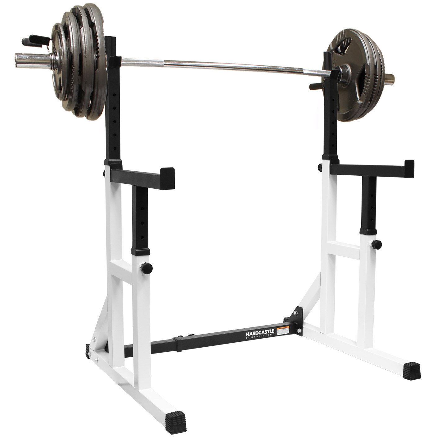 Weight Bench Cage Adjustable Weight Bench Heavy Duty Squat Frame Rack