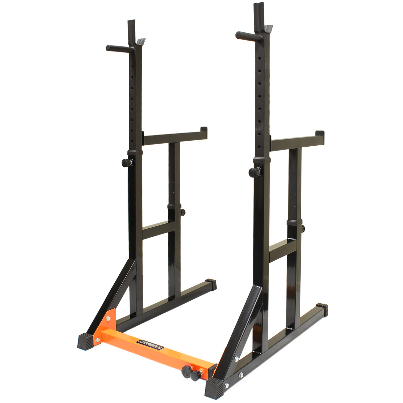 Mirafit Hd Adjustable Fid Weight Bench Squat Rack Dip Stand Press Lifting Kit Ebay