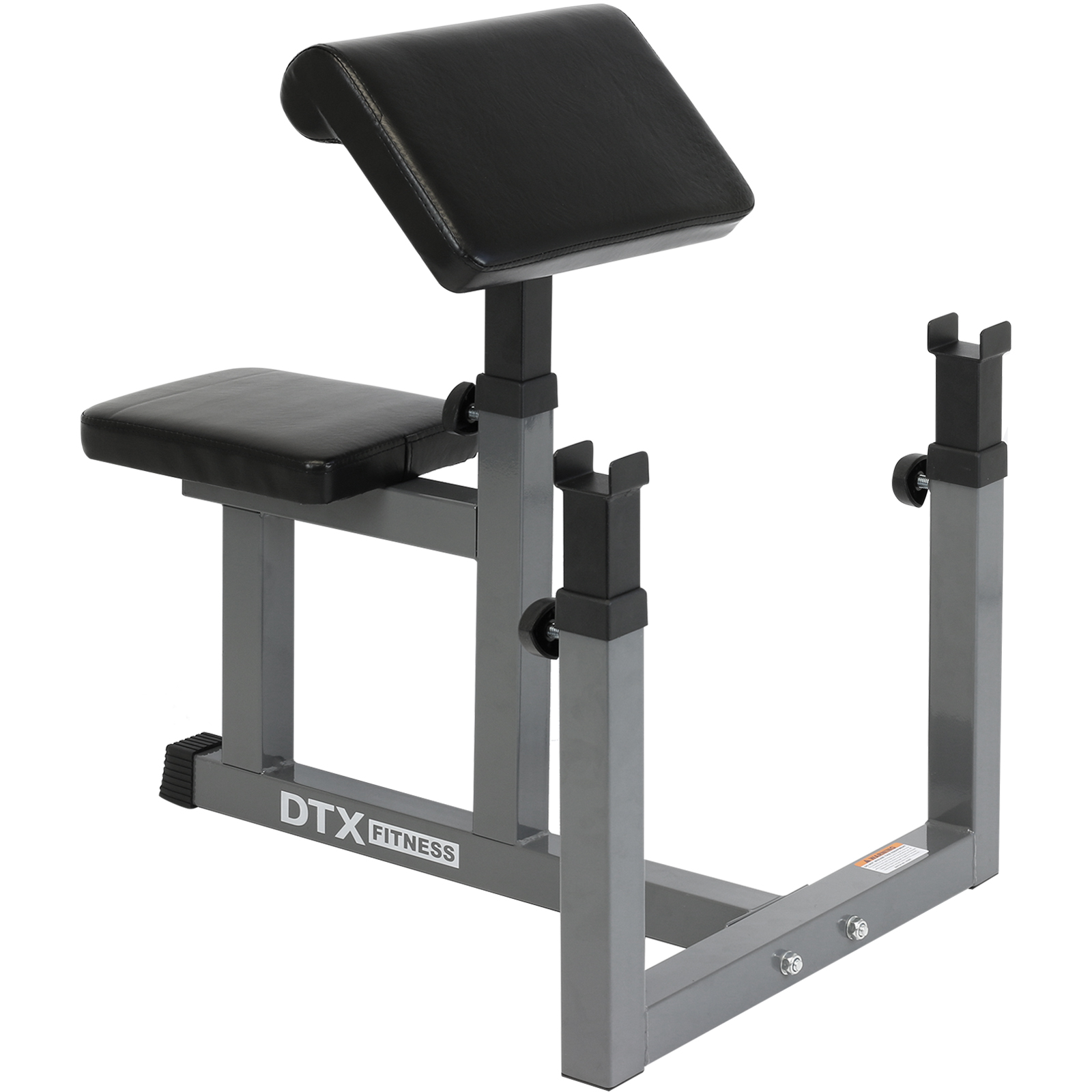 Dtx Fitness Preacher Arm Curl Barbell Weight Bench Bicep Seated Home Gym Workout Ebay