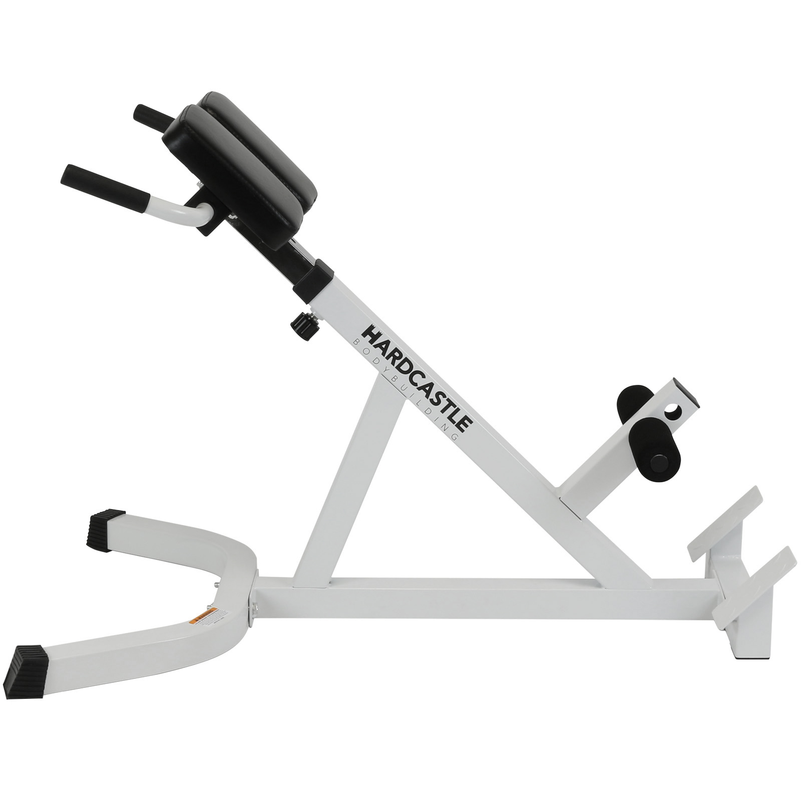 Adjustable Back Hyperextension Gym Bench Roman Chair