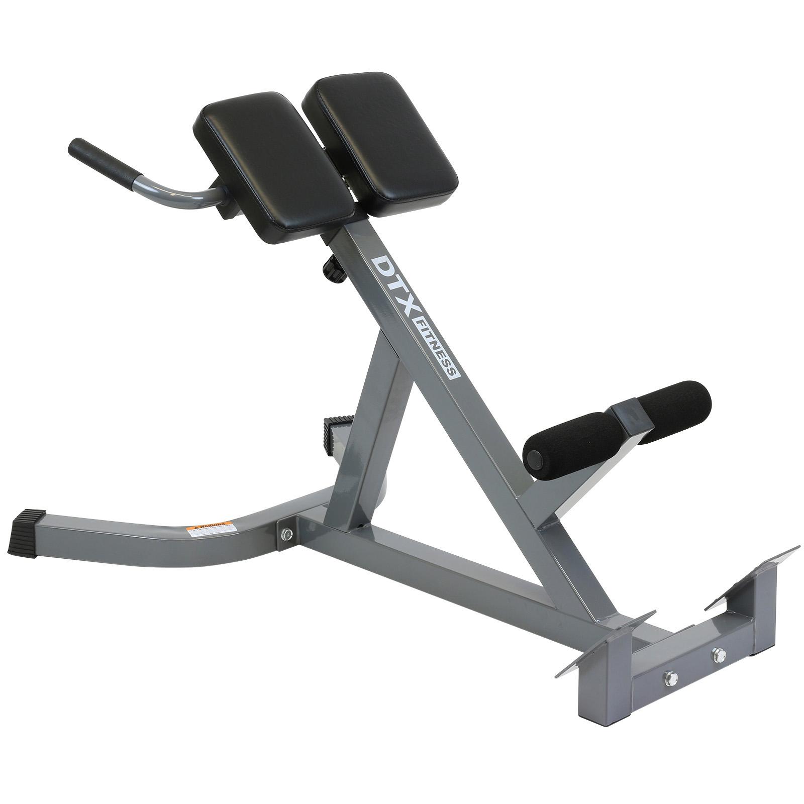 Dtx Fitness Back Hyper Extension Exercise Bench Hyperextension Roman Chair Lower Ebay