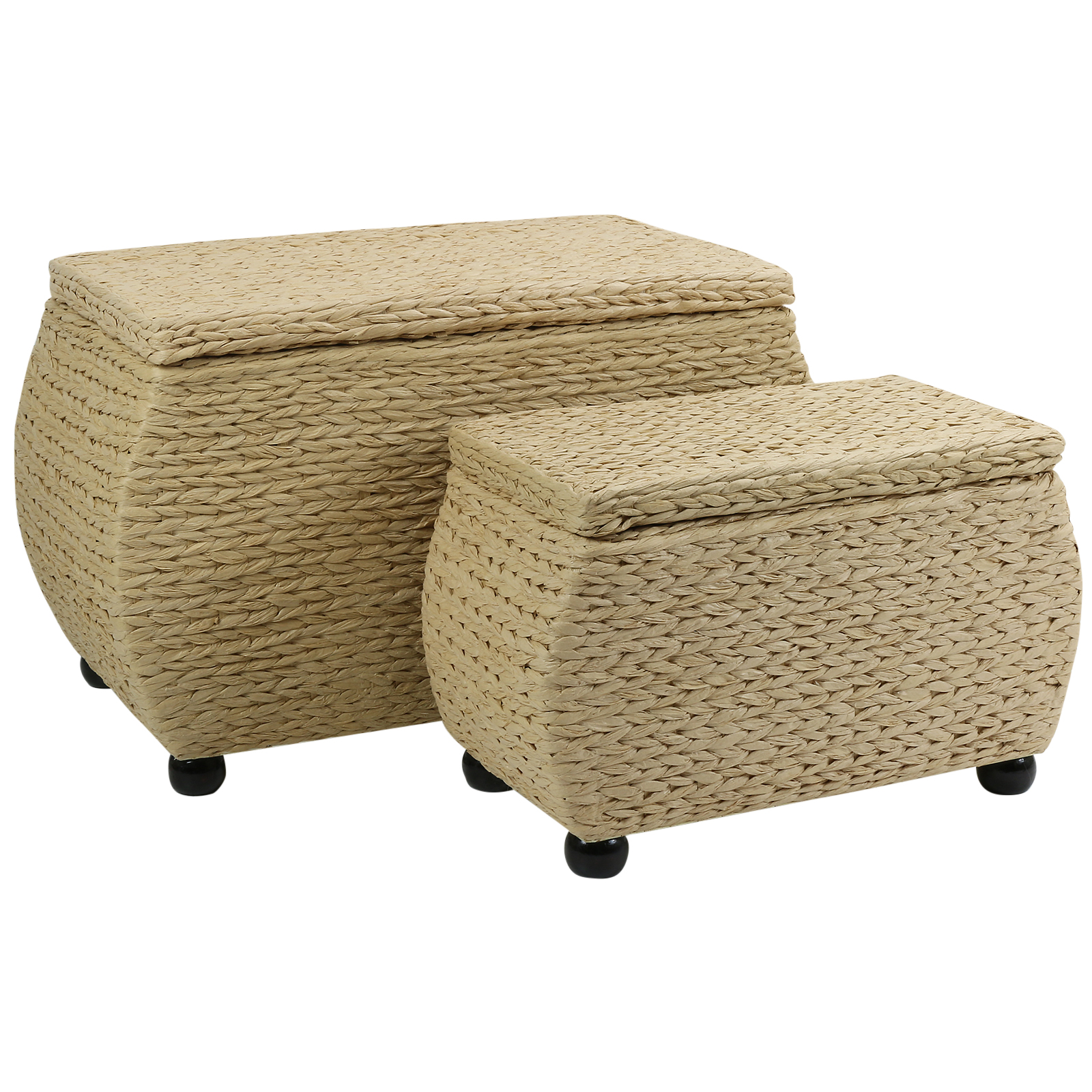 HARTLEYS NATURAL TWIN STORAGE TRUNK/STOOL BEDDING/BLANKET
