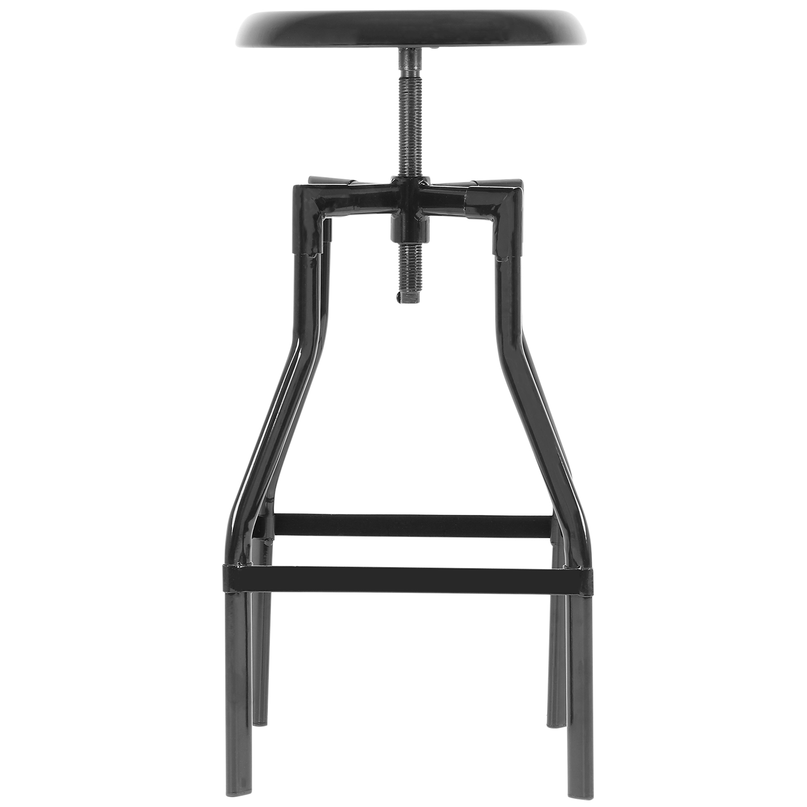 Hartleys tall retro swivel screw bar table stool height adjustable metal seat ebay - Screw top bar stools ...