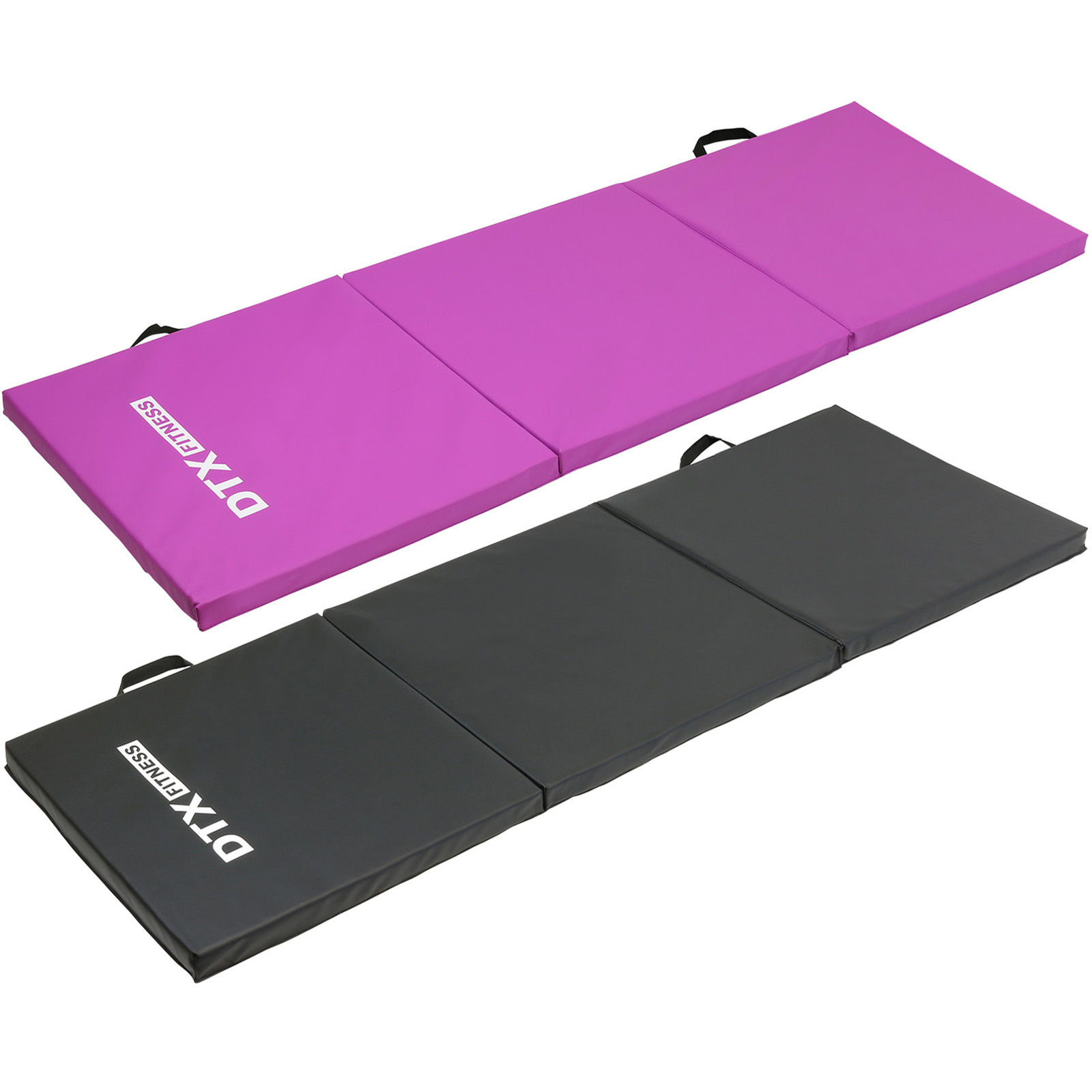 DTX Fitness Folding 6ft Exercise Mat Yoga/Pilates/Gym