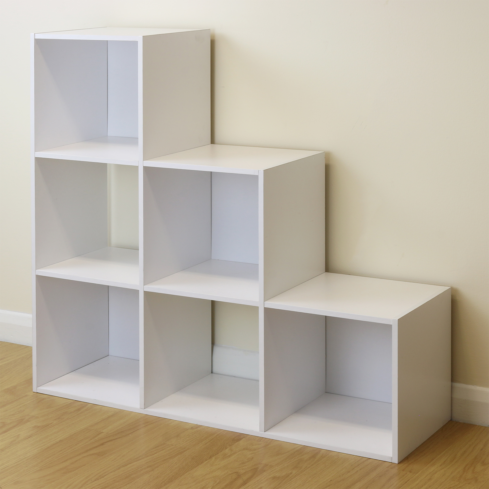white 6 cube storage unit boys
