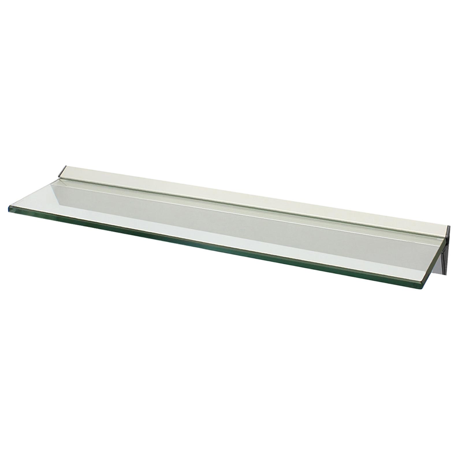 Narrow Bathroom Wall Storage: NARROW FLOATING GLASS WALL SHELF BATHROOM/KITCHEN/LOUNGE