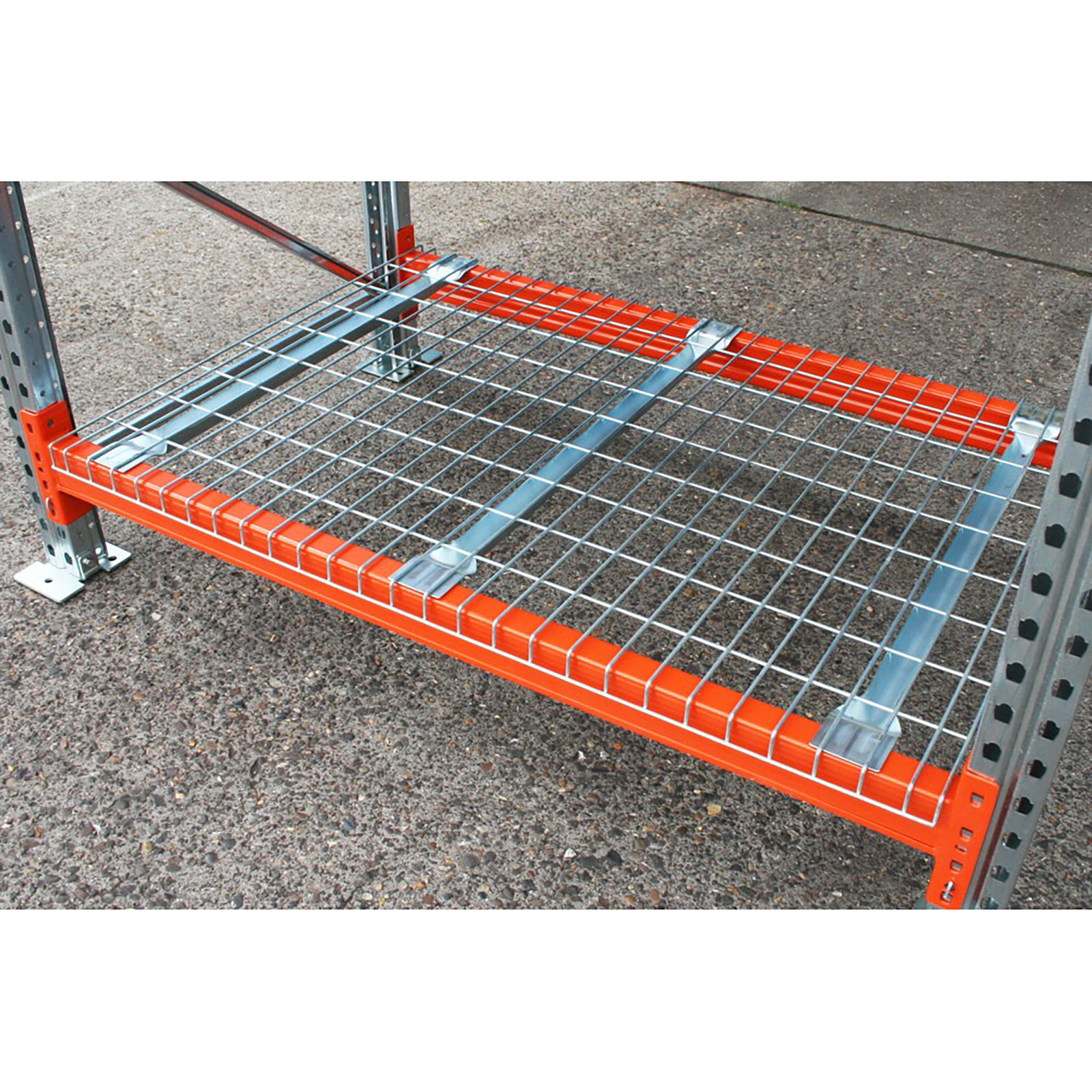 Wire mesh deck panel panels pallet racking warehouse