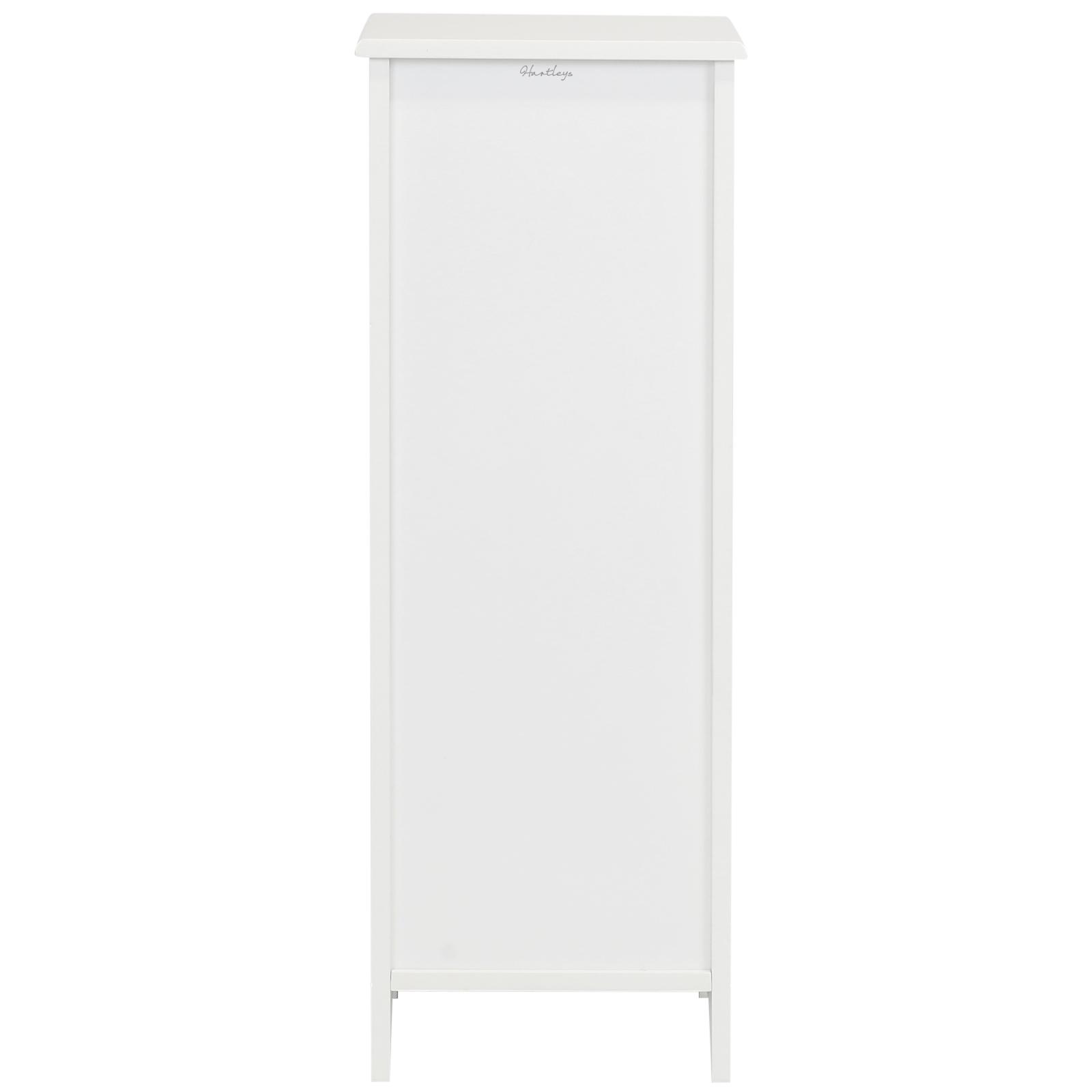 Damaged Kitchen Cabinets For Sale: SALE WHITE FREE STANDING 4 DRAWER SLIM BATHROOM CABINET