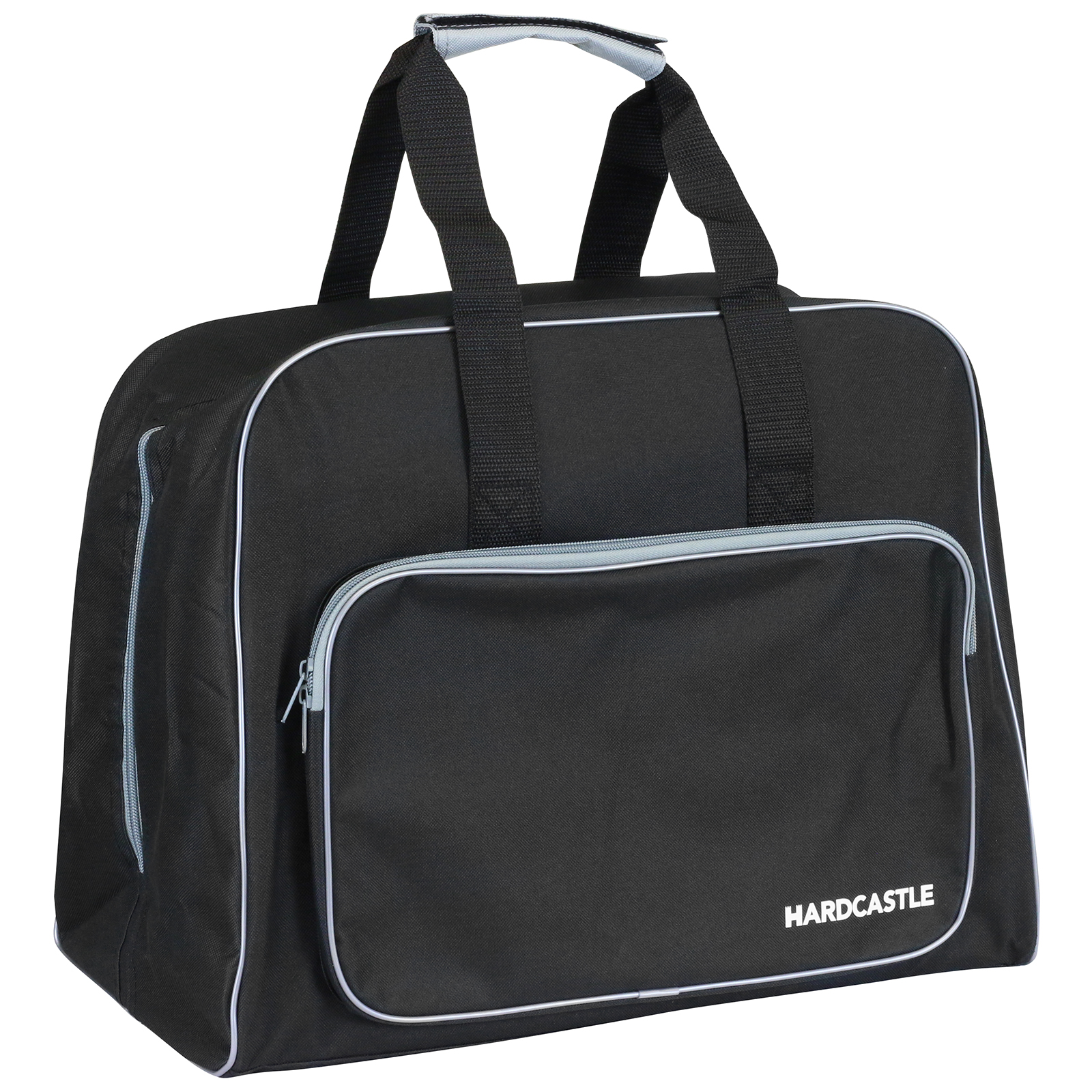 Hardcastle black padded sewing machine bag carry case with