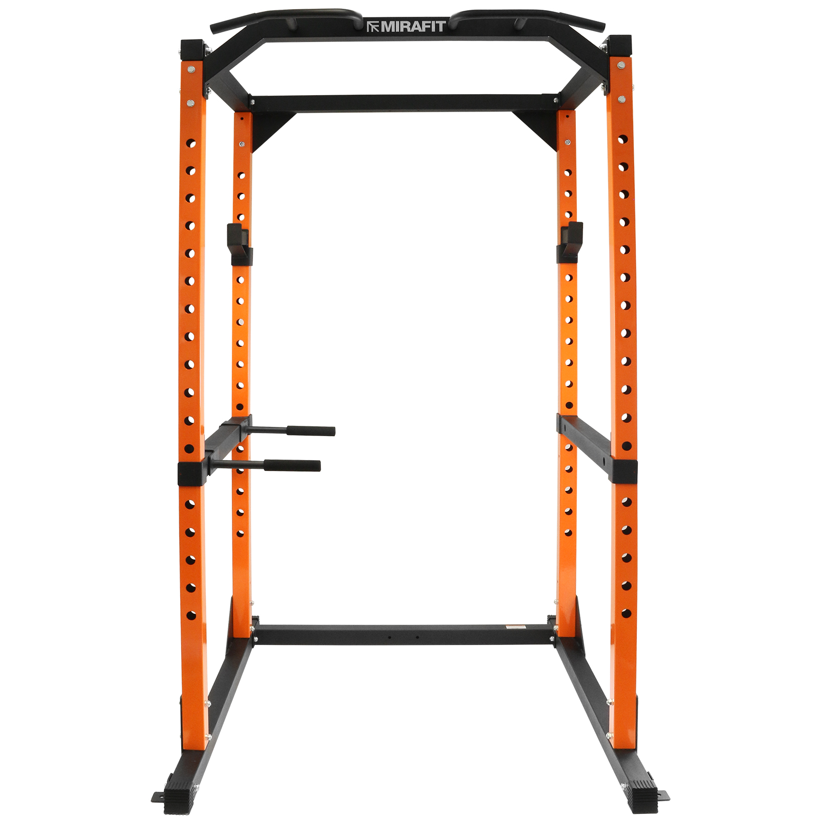 mirafit m2 power cage squat rack pull up dip bar weight lifting multi gym frame ebay. Black Bedroom Furniture Sets. Home Design Ideas