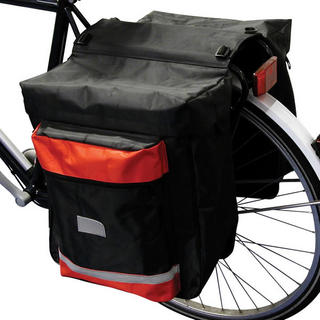 Double Rear Bicycle Luggage Pannier Bag