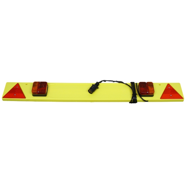 maypole 4ft car rear cycle bike carrier lighting board ebay