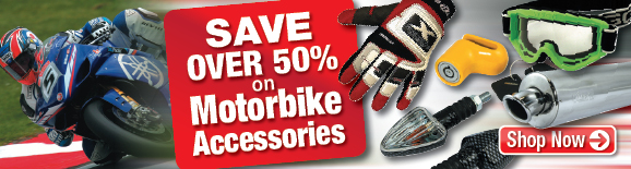 Motorbike Accessories at PassionAuto.co.uk