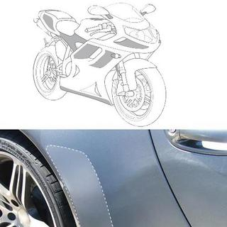 E-Tech Transparent Protection Film for Motorbike, Boat, Cycle or Gadgets