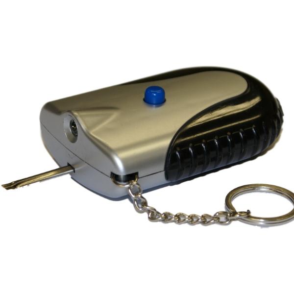 Lock De Icer Amp Torch On Keyring For Car Van Door Padlock