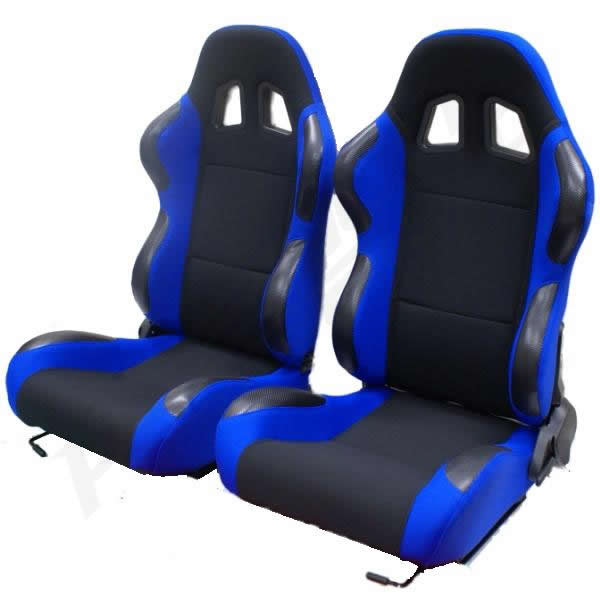 Black Blue Reclining Bucket Car Seats For Suzuki Vitara Grand Jimny