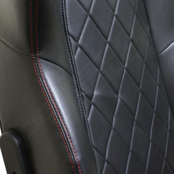 Gray and Black Mesh Race Car Style Office Task Chair - QD-5090-MESH-GG