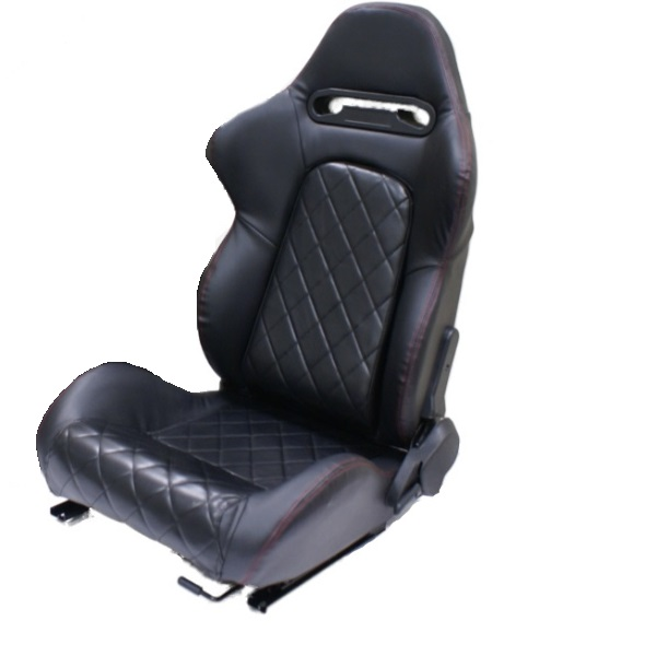 black pvc leather eff reclining bucket car seats for toyota celica mr2 supra ebay. Black Bedroom Furniture Sets. Home Design Ideas