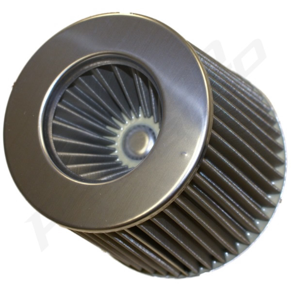 Wire Mesh Air Cleaner : Stainless steel mesh car air filter intake inverted