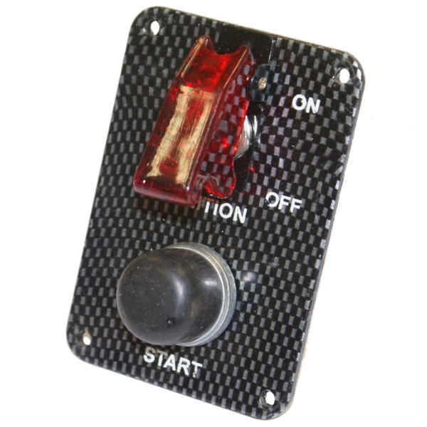 12v Car Dash Switch Panel Red Led Toggle Ignition And Push: Ignition Toggle Switch At Bitobe.net
