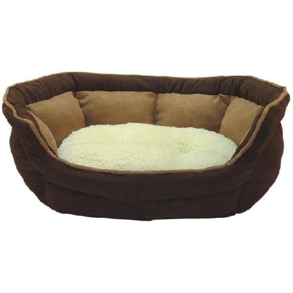 ME & MY LUXURY SUEDE SOFT DOG/PET BED FLEECE CUSHION SMALL/MEDIUM/LARGE WASHABLE Enlarged Preview